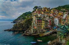 Cinque Terre - Riomaggiore - Landscape Photography by Viktor Lakics