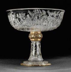 Bowl on high foot Artist: Francesco Tortorino worked in Milan from around 1550, died 1573 Milan about 1569
