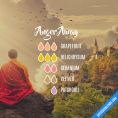 Anger Away — Essential Oil Diffuser Blend