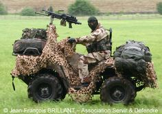 French military ATV.