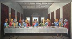 última cena de Leonardo Da Vinci versión #playmobil. hoy en nuestro blog!