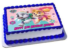 Skye Everest Paw Patrol Cake Topper Skye by Trendytreathouse