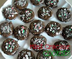 Chocolate Thin Mint Ritz Crackers Sixsistersstuff.com #Dessert #Recipe