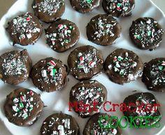 Mint Cracker cookies