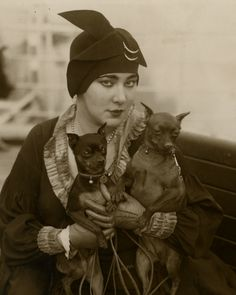 "Nita Naldi (November 13, 1894 – February 17, 1961) was an American silent film actress. She was usually cast in the role of the ""femme fatale""/""vamp"", a persona first popularized by actress Theda Bara."
