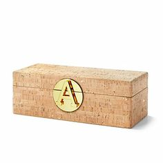 Just fell in love with the Gold Flecked Cork Jewelry Box Monogram Shop, Monogram Jewelry, Jewelry Organization, Home Decor Inspiration, Cork, Jewelry Box, Jewelery, Home Accessories, Great Gifts