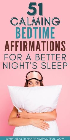 51 peaceful bedtime affirmations for your best night's sleep. Night affirmations filled with positivity and gratitude so you can fall asleep faster - and stay asleep. Sweet dreams! #bedtimeaffirmationsforwomen #nighttimeaffirmations Affirmations For Women, Positive Self Affirmations, Positive Mindset, Positive Attitude, Positive Quotes For Life Encouragement, Positive Quotes For Life Happiness, Good Mental Health, Mental Health Quotes, Night Routine