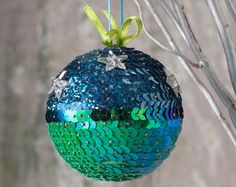 Christmas Gift/ Girls Room Decoration/ Christmas by SequinsAndMore