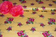 Lady Luau Sunshine Fabric - Loralie Designs High Quality Fabric - Bright Colors! by AllenHeart on Etsy