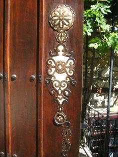 Door detail; Elazig, Turkey.