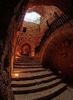 #Ajloun castle in #Jordan was built by Saladins nephew in 1184 to protect the country against Crusader attacks. What a beautiful piece of history. Rent a cabin right next to it!