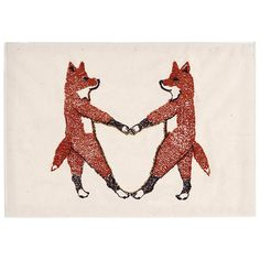 Coral & Tusk - Fox Love Embroidered Stationery