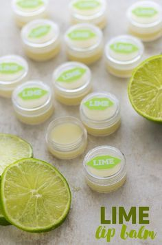 Lime Lip Balm - Making your own lip balm isn't hard to do! This one smells fresh and tangy and feels wonderful on dry lips.