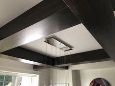 i have the same ceiling beams in the dinning room and tv room. need finishing color