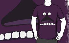 #Buka #muminki #moonins #groke #design #tshirt #purple #scary #lol