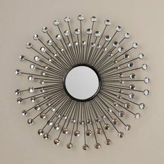 above the bed? Found it at Wayfair - Beatty Modern Sunburst Wall Mirror Mirror Ceiling, Wall Mirrors Entryway, Small Wall Mirrors, Black Wall Mirror, Rustic Wall Mirrors, Round Wall Mirror, Floor Mirrors, Unique Mirrors, Entryway Console