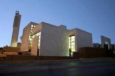 Al-Hamshari mosque - amman - Jordan Arabic Decor, Mosque Architecture, Islamic Center, Arabic Design, Beautiful Mosques, Prayer Room, Beautiful Architecture, Islamic Art, Bellisima
