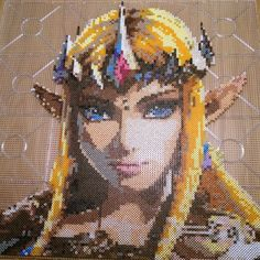 Shared by napapon #retrogames #microhobbit (o) http://ift.tt/21pM0ld #fusebeads later and I am done!  Hope you like it!  #pixelart #photopearls #like #retro #hama #zelda #fusebeads  #reallynice #fusebeads #sweden #pärlplattor #nintendo  #pixels #beads #thelegendofzelda #pärla
