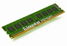 Kingston Technology ValueRAM 8GB Kit (2x4GB) DDR3 1333 MHz DIMM Desktop Server Memory KVR1333D3E9SK2/8G by Kingston. $58.99. Kingston is the industry leader in PC memory. Product is backed by a lifetime warranty and free technical support. Included in the package is two 4GB modules of 1333MHz DDR3 memory. Specs are 240-pin DIMM.