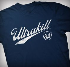 Unreal Tournament Ultrakill shirt from the Epic Games Store Unreal Tournament, Epic Games, Tees, Shirts, Gaming, Store, People, Mens Tops, T Shirts