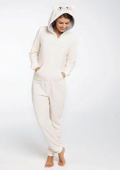 Combinaison pyjama fantaisie, OFFWHITE