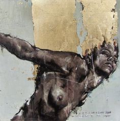 The Powerful Abstract Drawings & Paintings of Guy Denning Abstract Drawings, Cool Drawings, Figure Painting, Painting & Drawing, Gallery Magazine, Street Art, L'art Du Portrait, Female Art, Les Oeuvres