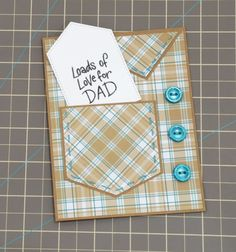 What's Your Special Message for Dad This Father's Day? --- Learn how to make a DIY card for your Dad this Father's Day