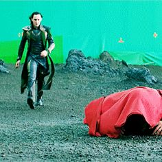 bloopers, thor, and loki image