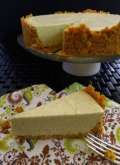 No Bake Lemon Myrtle Cheesecake, Lemon Myrtle is a native Australian herb which has a unique lemon/lime taste, mellow without the tang.