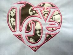 Love Collage Word in Heart Valentine Applique. INSTANT DOWNLOAD Machine Embroidery Design Digitized File by DChaseDesigns on Etsy https://www.etsy.com/listing/122166410/love-collage-word-in-heart-valentine