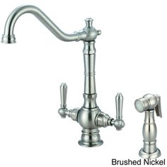 Pioneer Americana Series Two-handle Kitchen Faucet with Sprayer | Overstock.com