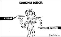 Explicación de la #economía egipcia. Cuando las #subvenciones se van en #impuestos Comics, Memes, Humor, Fictional Characters, Frases, Egyptian, Meme, Humour, Funny Photos