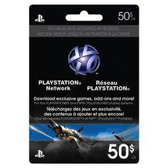 Playstation Network Gift Card!!! BestBuy.ca