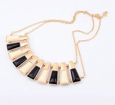 Stylish Color Metal Necklace