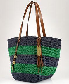 Lauren Ralph Lauren Gardiner Tote Handbags   Accessories - Macy s 9f07f4970a9c6