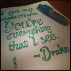 Drake quote - hold on, we're coming home - sketch N Kustom Design   Mark Bernard's Website