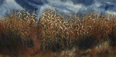 """""""Autumn Songs,"""" by John Dean  """"I stop my car along the side of the road to halt the blur of the endless fields outside my window. I get out, walk up close to a small section of corn as it towers above me and listen. The breeze rattles and rustles as it scrapes past the scratchy leaves and rigid stalks still holding their summer bounty. Soon they will be harvested and chopped, but not before I hear the songs they play as they wait."""""""