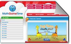 MathGameTime, portal de juegos matemáticos para niños