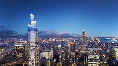New York's future second-tallest skyscraper breaks ground