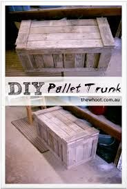 pallet trunk - Google Search
