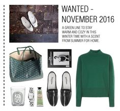 """""""Wishlist - November 2016"""" by kelly-m-o ❤ liked on Polyvore featuring Goyard and Diptyque"""