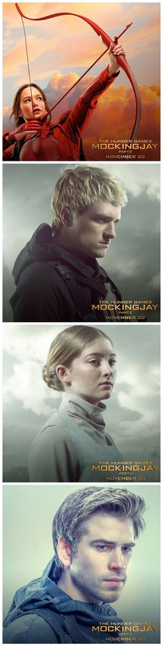 Some of Tim Palen's Mockingjay Part 2 portraits, including a new image of Peeta, that have popped up on Instagram's users feeds.
