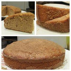 Torta de canela y azucar moreno