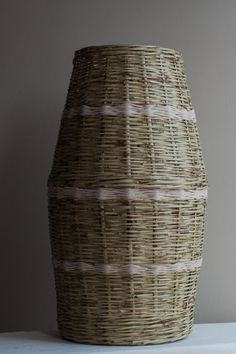 African Basket Recycled Wood, Baskets, Recycling, African, Vase, Home Decor, Salvaged Wood, Decoration Home, Room Decor