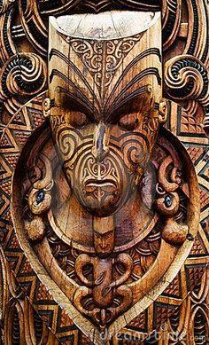 Photo about Traditional carved maori plate. North Island, New Zealand. Maori Designs, Arte Tribal, Tribal Art, Samoan Tribal, Filipino Tribal, Wood Carving Art, Bone Carving, Wood Carvings, Maori Symbols