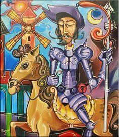 Ciprian Frunza. Don Quixote. undated contemporary