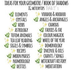 Witchy Tips : Grimoire / Book Of Shadows Witchcraft History, Witchcraft Spell Books, History Of Witches, Wicca History, Green Witchcraft, Magick Spells, Grimoire Book, Witch Spell Book, Witchcraft For Beginners