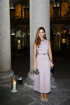 Miroslava Duma attends the dinner honouring Bottega Veneta's Tomas Maier 15th anniversary as Creative Director during Milan Fashion Week Spring/Summer 2017 on September 24, 2016 in Milan, Italy.