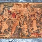 Middle eastern tapestry: wall hangings, photo