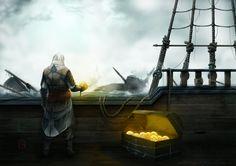 Assassins Creed IV - Fan Art by F-B-S-Augusto.deviantart.com on @deviantART